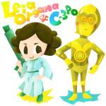 レイア姫&C3PO