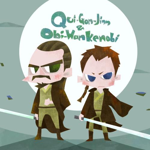 クワイガンとオビワン