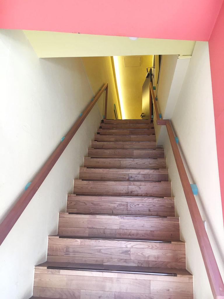レトロフト階段